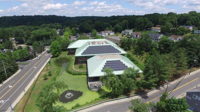 Solar Panels On Business